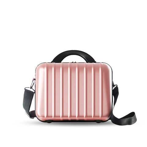 Japan And Korean Style Portable Cosmetic Bag Ladies All-Match Scratch-Resistant Pc Shoulder Bag