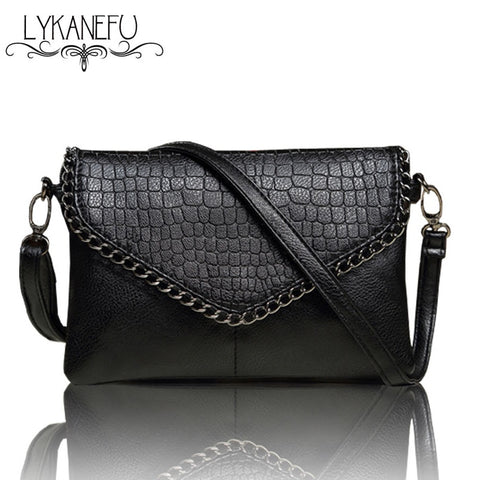 Lykanefu Casual Small Bag For Women Messenger Bags For Women Shoulder Bags Crossbody Black Clutch