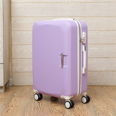 "Fashion Business  20""24 Inches Trolley Case Abs+Pc Students Pull Rod Box Travel Luggage Rolling"