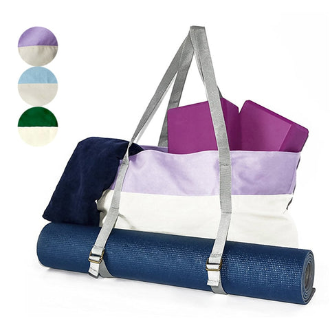 Yoga Duffel Bags Oxford Splicing Color Men And Women Outdoor Sport Bag Gym Fitness Training Storage