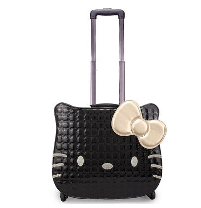 Hellokitty Universal Wheels Trolley Luggage Travel Bag Suitcase Child Luggage,18Inch Lovely