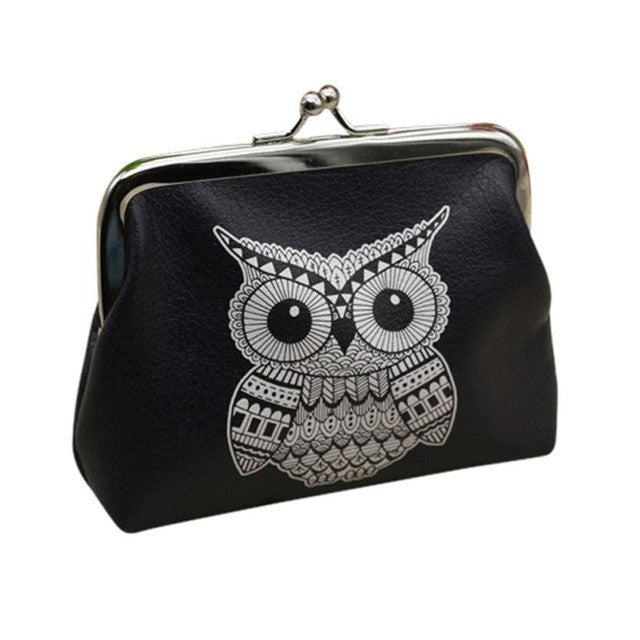 Xiniu Ladies Wallets And Purses Anime Wallets Elephant Pattern Purse For Owl Coin Purse Female