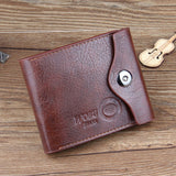 Carteras Mujer Fashion Mens Wallet Leather Bifold Id Cards Holder Coin Pocket Bag 2016 Wallets Slim
