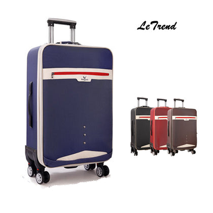 Letrend New Fashion Oxford Rolling Luggage Student Travel Bag Trolley Suitcases Password Box