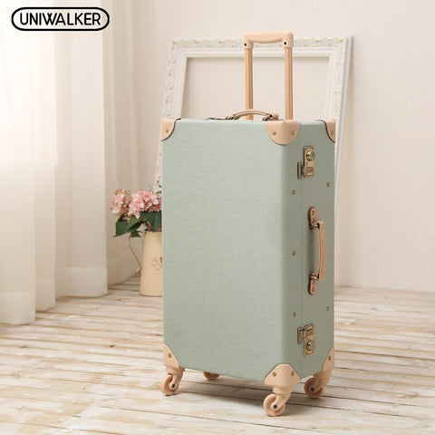 "12"" 20"" 24"" 26"" Inch 2Pcs/Set Oxford Travel Trolley Luggage Scratch Resistant Rolling Luggage"