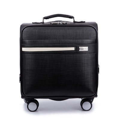 Solid Color Commercial Suitcase Trolley Luggage Male 16 Universal Wheels Luggage Computer Box