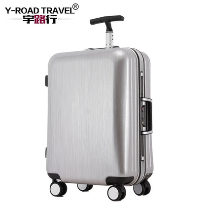 4 Size Rolling Luggage Suitcase Boarding Case Travel Luggage Case Spinner Cases Trolley Hardside