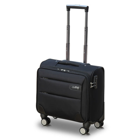 Commercial Universal Wheels Trolley Luggage Travel Bag Luggage14 16 18 20 Male Oxford Fabric