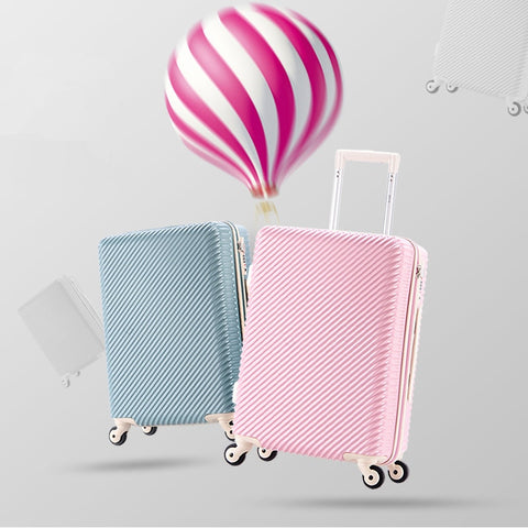 Trolley Luggage Luggage Female 20 Ultra-Light Small Fresh Password Box Travel Bag 24 Universal