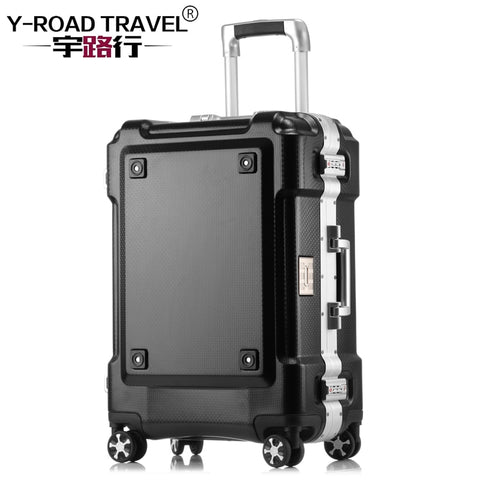 Metal Frame Carry On Luggage Valise Cabine Rolling Travel Cheap Suitcase Valiz Bavul