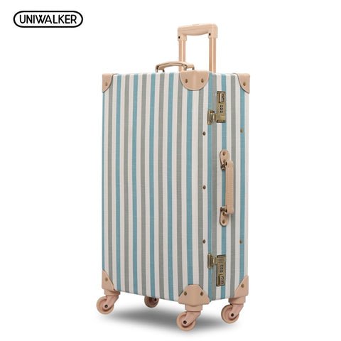 "20"" 24"" 26"" Inch 2Pcs/Set Fresh Oxford Travel Trolley Luggage Scratch Resistant Rolling Luggage"