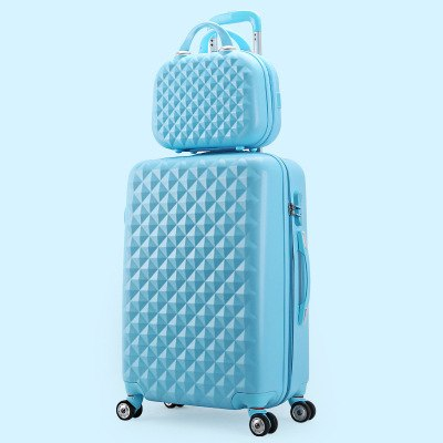 Wholesale!14 20Inches(2 Pieces/Set) Abs Hardside Case Trolley Travel Luggage Set For