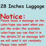 Wholesale!Women Korea Fashion Retro Travel Luggage Suitcase Sets On Universal Wheels,14 20 24