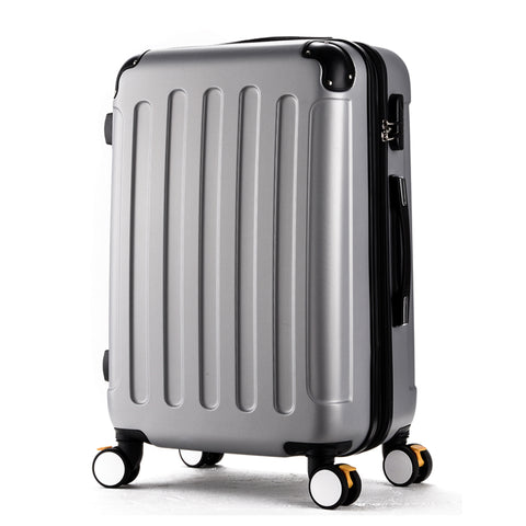 Wholesale!Russia Fashional Candy Color Abs Pc Case Travel Luggage On Universal Wheels For Girl