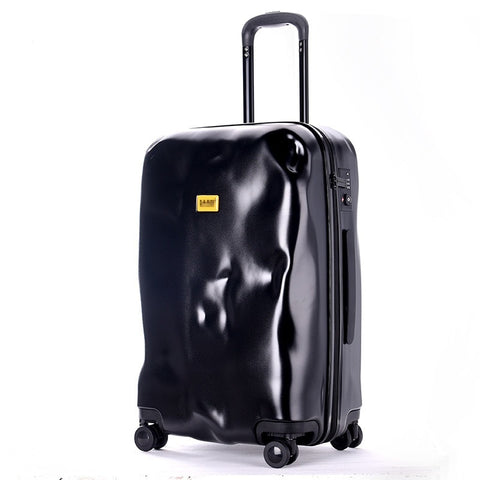 New Fashion Italian Originality Damage Rolling Luggage Women Trolley 20 Inch Boarding Box Suitcases