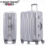 20'24'26'28' Aluminum Frame Spinner Luggage Carry-On Cabin Tsa Scratch Resistant Travel Trolley