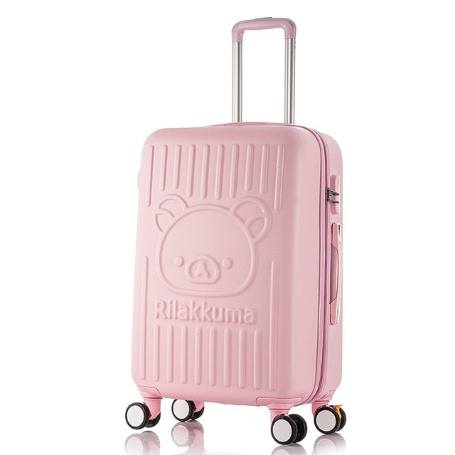 69df143ca Lovely 14Inch Cosmetic Bag Children Women 20 24 Inches Girl Students Trolley  Case Travel Luggage