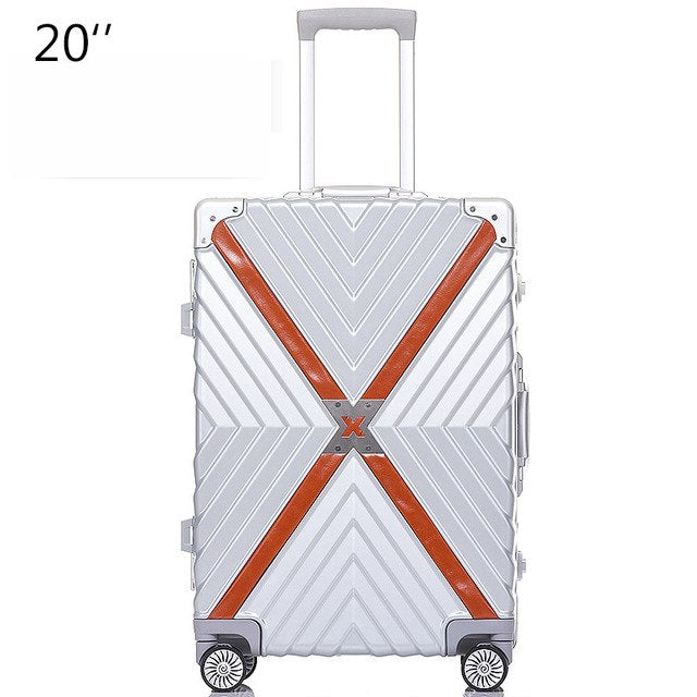 20,24,26,28 Inch Rolling Luggage Spinner Brand Travel Suitcase Hardside Luggage Women Boarding