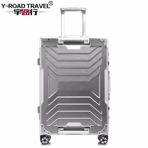 "Aluminum Trolley Suitcase Carry On Spinner Wheel Travel Luggage 20""/24""/29"" Rolling Luggage"