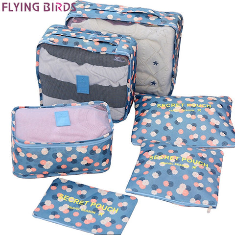 Flying Birds Travel Bags Women Travel Totes Storage Bag Package Travel Underwear Bag Printing