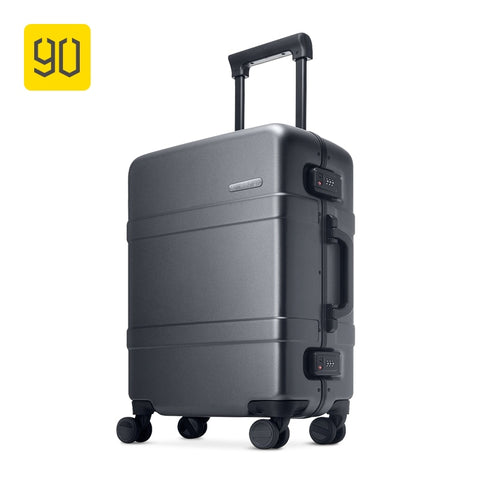 Xiaomi Ecosystem 90Fun Upgraded Aluminum Framed Suitcase Pc Spinner Wheel Carry On Hardshell