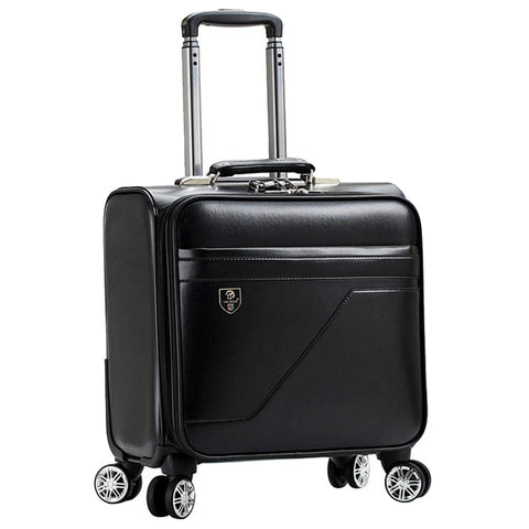 16 Inch Rolling Luggage Suitcase Boarding Case Travel Luggage Spinner Cases Trolley Suitcase