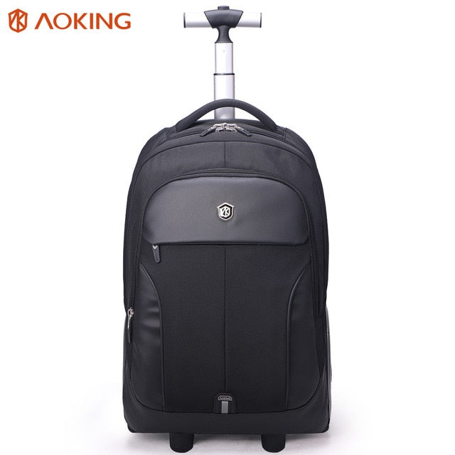 Aoking Men'S Abs Trolley Luggage Travel Bags Large Capacity Trolley Bags Waterproof Carry-On Bags