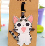 Travel Accessories Creative Luggage Tag Animal Cartoon Silica Gel Suitcase Id Addres Holder Baggage
