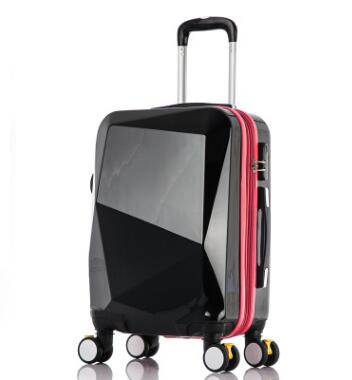"20 Inch Travel Trolley Luggage Suitcase 24"" Pc Trolley Bags On Wheels Wheeled Travel Case"