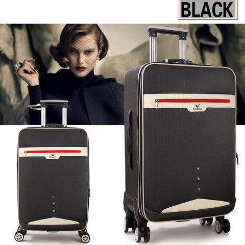 Letrend Student Rolling Luggage Spinner Travel Bag Men Password Trolley Women Suitcases Wheel 20