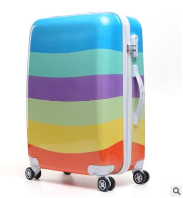 Women Travel Luggage Case Spinner Suitcase Men Travel Rolling Case On Wheels 20 24 Inch Lady Travel