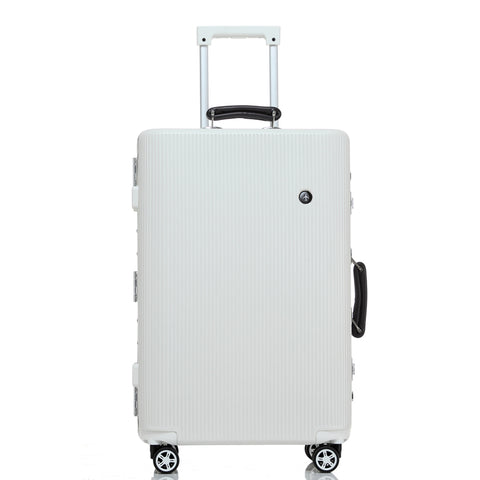 Aluminum Frame Male Female 20 30Inches Luggage On Universal Wheels,High Quality Ambassador