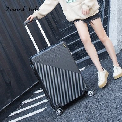 "Travel Tale New Fashion Contracted  Rolling Luggage Spinner Brand Travel Suitcase 20""/22""/24""/26"""