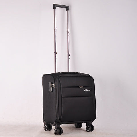 Business Travel Airplane Rolling Luggage Spinner Wheels Men Women Suitcase Clothing Carry On