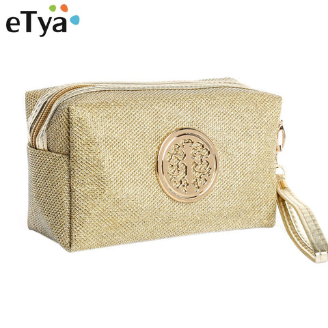 Etya Women Cosmetic Bag Travel Make Up Bags Fashion Ladies Makeup Pouch Neceser Toiletry