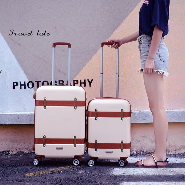 Travel Tale Classical Fashion  20/24/28 Inch Rolling Luggage Spinner Brand Travel Suitcase  Unisex