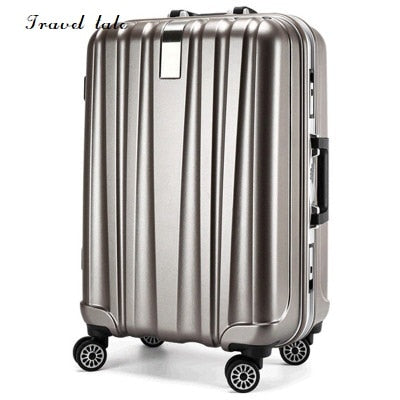 Travel Tale 20/24 Inches Pc Rolling Luggage Fashion Customs Lock Spinner Brand Business Travel