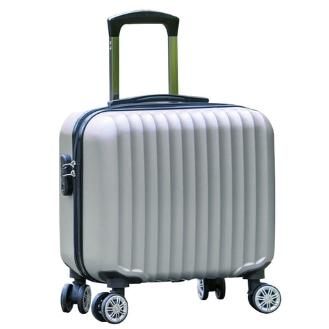 17 Inches Universal Wheels Small Luggage Mini Luggage Commercial Trolley Luggage Small Fresh