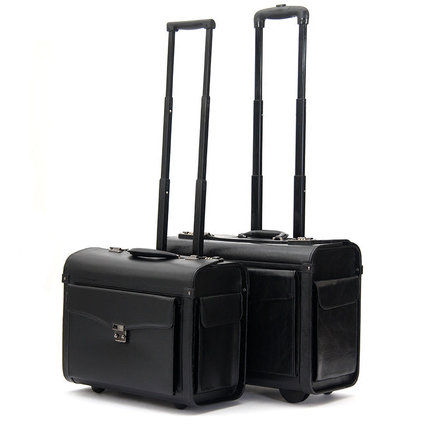 Pilot Trolley Luggage Commercial 19Inches Suitcase Luggage Wheel Travel Luggage,Airplain Boarding