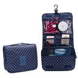 Diniwell Waterproof Polyester Travel Cosmetic Bag Cosmetic Bag Hanging Wash Bag Neutral Makeup