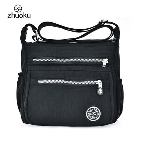 Women Messenger Bags Nylon Canta Shoulder Bags Handbags Famous Brands Designer Crossbody Bags