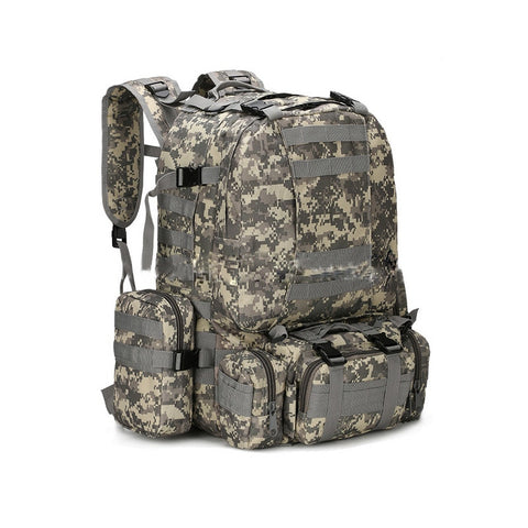 New Fashion Unisex 3D Military Rucksack Big Capacity Wear-Resisting Backpack Bag High Quality