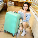 Luggage Travel Hard Case Personalized Password Box Rose Gold14 20 24 Trolley Luggage Picture
