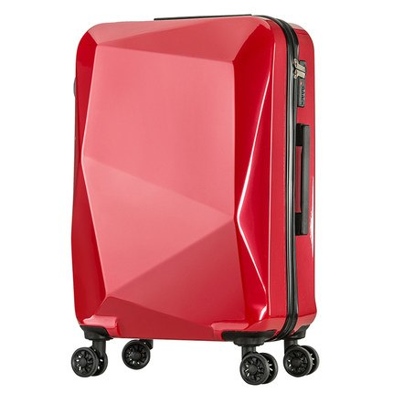 Letrend Creative Rolling Luggage Spinner Student Password Suitcase Wheels Trolley 20 Inch Cabin