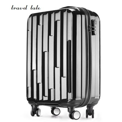 Travel Tale New High Quality 20/24/28 Inches Abs+Pc Rolling Luggage Fashion Customs Lock Spinner