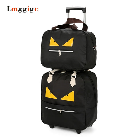 Waterproof Luggage ,Oxford Cloth Suitcase Bag,Large Capacity, Monster Travel Trolley Dragboxes