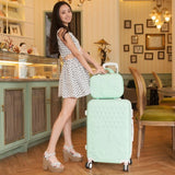 20Inch Sets High Quality Trolley Suitcase Luggage Traveller Case Box Pull Rod Trunk Rolling Spinner