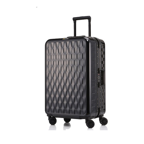 Letrend Aluminium Frame Travel Bag Carry On Luggage Hardside Trolley Rolling Luggage Spinner