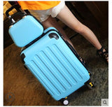 Brand 20 Inch 24 Inch Rolling Luggage Case Spinner Case Trolley Suitcase Women Travel Luggage