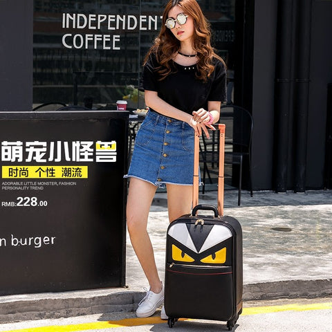 Small Travel Bag Universal Wheels Female14 20 Luggage Bag Personalized Luggage Trolley Suitcase